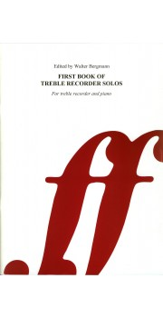 First Book of Treble Recorder Solos - Treble Part only