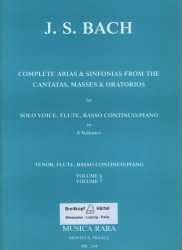 Complete Arias and Sinfonias from the Cantatas, Masses and Oratorios BWV55, BWV78, BWV96, BWV99, BWV102, Vol 6