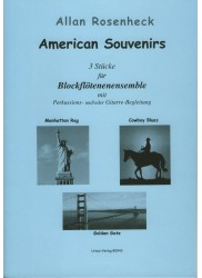 American Souvenirs.  Three studies for Recorder Ensemble