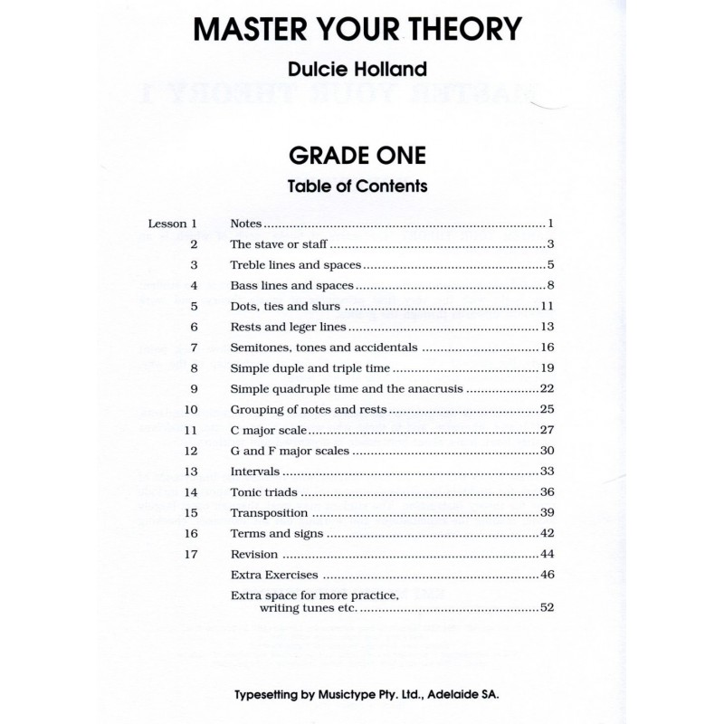 master your theory grade 1 pdf
