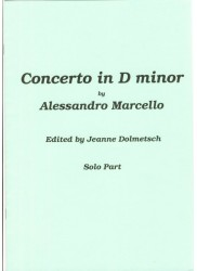 Concerto in d minor Solo Part