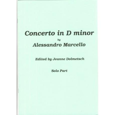 Concerto in d minor Solo Part