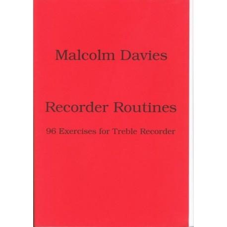 Recorder Routines: 96 exercises