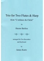 Trio for Two Flutes & Harp from L'enfance du Christ