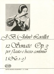 12 Sonatas Op. 3, Volume 1, No. 1-3