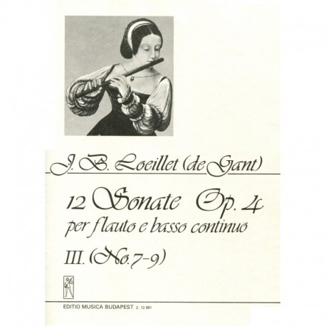 12 Sonatas Op. 4, Volume 3, No. 7-9