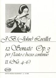 12 Sonatas Op 3, Volume 2, No 4-6