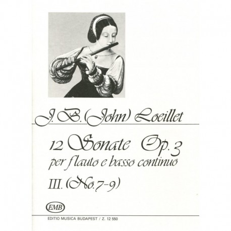 12 Sonatas Op. 3, Volume 3, No. 7-9
