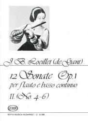12 Sonatas Op 1, Volume 2, No 4-6