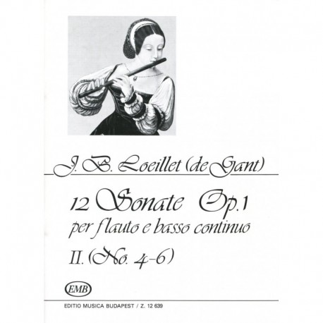 12 Sonatas Op. 1, Volume 2, No. 4-6