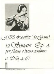 12 Sonatas Op 4, Volume 2, No 4-6