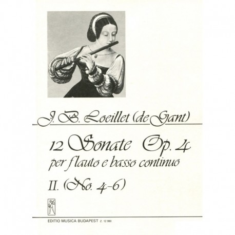 12 Sonatas Op. 4, Volume 2, No. 4-6