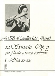 12 Sonata Op 3, Volume 4, No 10-12