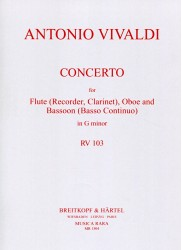 Concerto in G Major RV 103