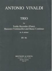 Trio in a minor RV 86