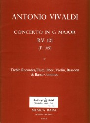 Concerto in G Major RV101