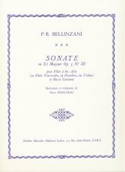Sonata en Ut Majeur Op 3 no III