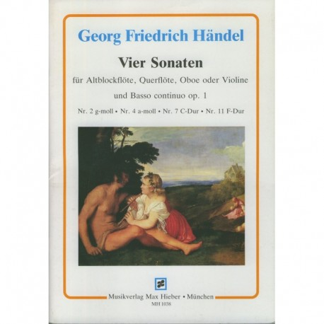 Four Sonatas Op. 1