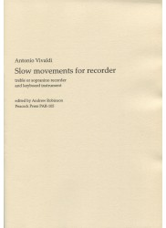 Slow movements for recorders