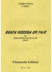 Beata Viscera Op. 74/E