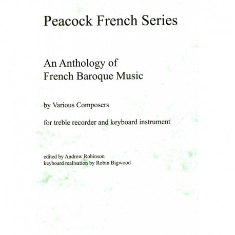 An Anthology of French Baroque