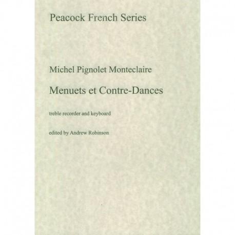 Minuets et Contre-Danses qui se dancent AUX BALS de L'Opera: pour les Violons, lutes et Hautbpir avec la Basse