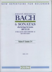 6 Sonatas after the Organ Trio Sonatas (BWV525-530) Vol II: Sonatas 3-4