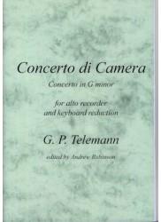 Concerto di camera: Concerto in g minor