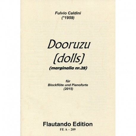 Dooruzu (Dolls) Marginalia Nr. 28