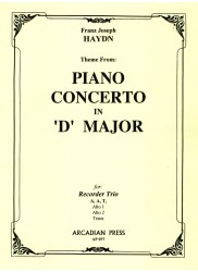 Theme from Piano Concerto in D Major