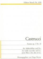 Sonata op 1 Nr 10