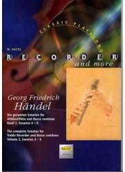 The Complete Sonatas for Treble Recorder and Basso Continuo Vol 2 Sonatas 4-6