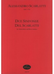 Due Sinfoniea, Del Scarlatti
