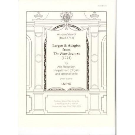 Largos & Adagios from The Four Seasons(1725)