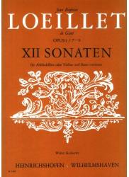 12 Sonatas Opus 1, No 7-9