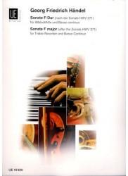 Sonata in F Major (after Sonata HWV 371)