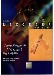 Pieces for Treble Recorder and Basso Continuo