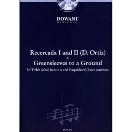 Recercada I and II and Greensleeves to a Ground