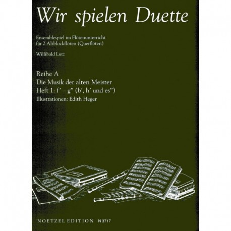 Wir spielen Duette - We Are Playing Duets Vol. 1