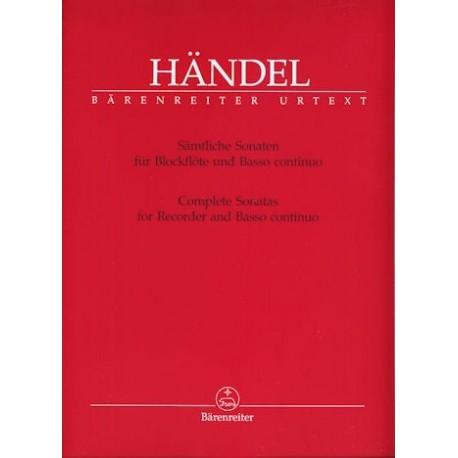 Complete Sonatas for Recorder