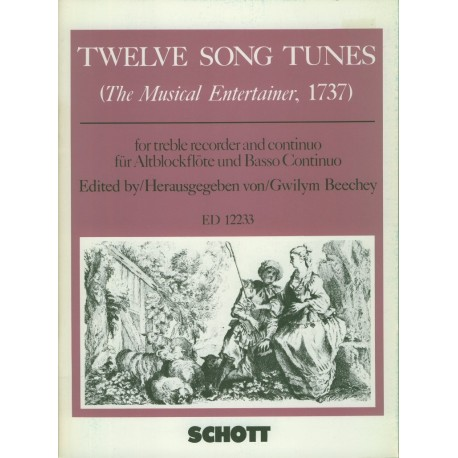 Twelve Song Tunes. The Musical Entertainer
