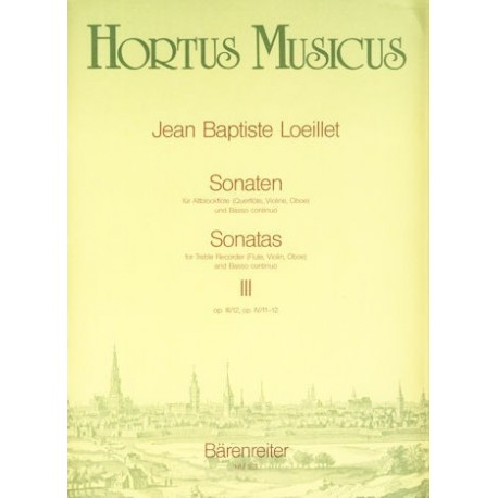 Sonatas, Vol III, Op. III/12, Op.IV/11-12