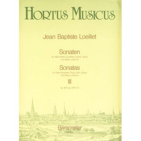 Sonatas, Vol III, Op III/12, OpIV/11-12