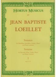 Sonatas Op I/1-3