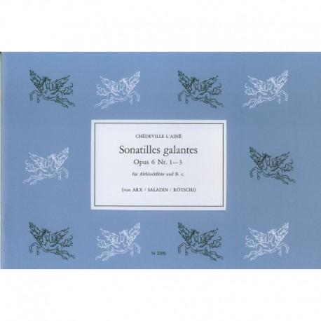 Sonatilles galantes Op. 6 Nos 1-3