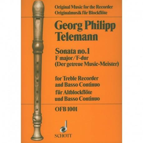 Sonata No 1 in F Major