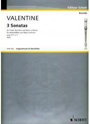 3 Sonatas Op 3 No 1, 2, 5