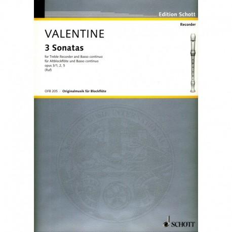 3 Sonatas Op. 3 No. 1, 2, 5