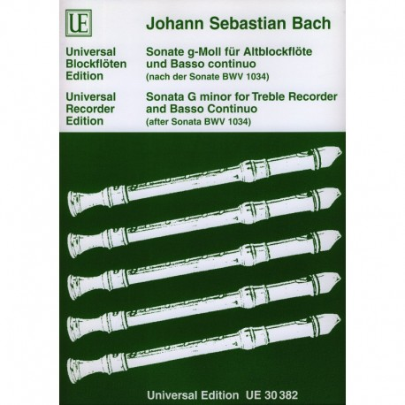 Sonata in g minor BWV 1034