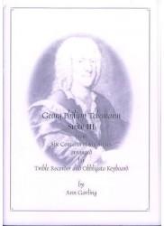 Suite III from Six Concerts et six suites TWV42:h2 (1734) in d minor